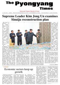 thumbnail of Pyongyang Times 11172018