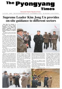 thumbnail of Pyongyang Times 20181103