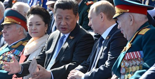Why recent U.S. sanctions target Russia, not China
