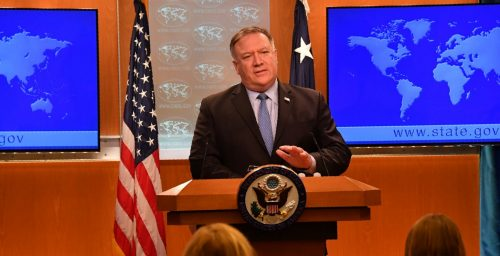 Peace, inter-Korean co-op must move in tandem with denuclearization: Pompeo