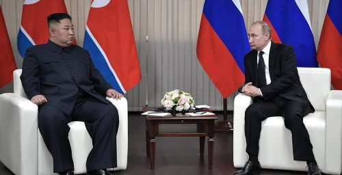 Following high-seas incident, North Korea-Russia ties face an unusual test