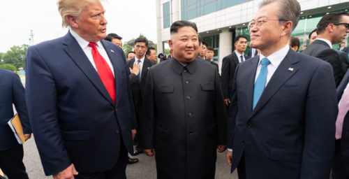 Door still open for dialogue with North Korea, South Korean President insists