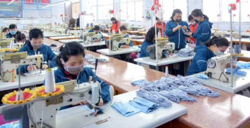 """North Korean factories taking """"emergency"""" steps to increase face mask production"""
