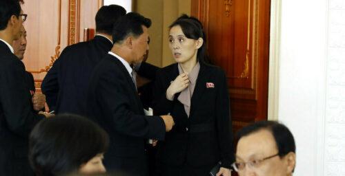 Sister act: North Korea ups the ante with an increasingly outspoken Kim Yo Jong