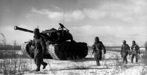 70 years ago in freezing North Korea, China crushed US hopes of a war victory