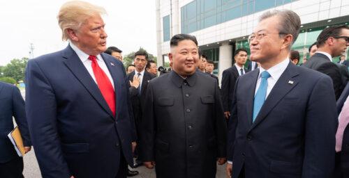 Trump says Kim Jong Un 'never respected' Moon Jae-in, slams cost-sharing deal