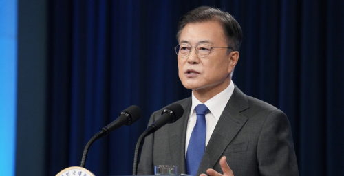 Moon promises 'strict' response to activities that hinder inter-Korean relations