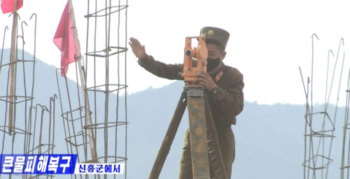 Widespread rebuilding efforts underway in North Korea after floods: Imagery