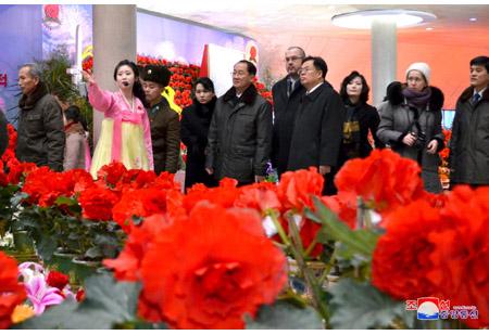 22nd Kimjongilia Festival under Way in Pyongyang