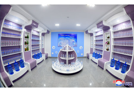 Taesongsan Spring Water Factory Inaugurated