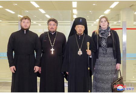 Russian Orthodox Church Delegation Here