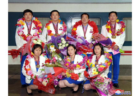 DPRK Players Prove Successful in 14th Asian Shooting Championships
