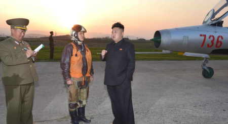 North Korea emphasizes air force around Day of the Sun