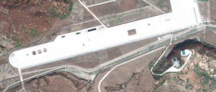Test range built for new North Korean armor