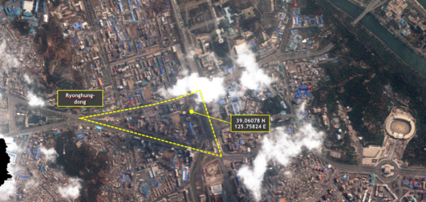 Evidence of Pyongyang building collapse inconclusive