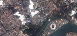 Satellite imagery reveals Ryomyong Street construction progress