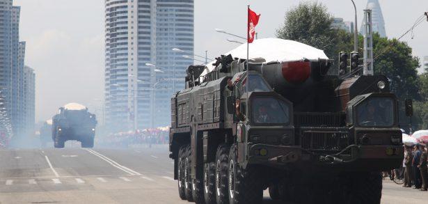 Organization of North Korea's ballistic missiles