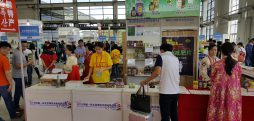 Beer and alternative medicine: North Korean stalls at Chinese trade shows