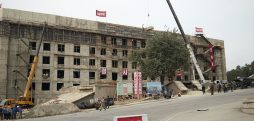 New government offices under construction in Pyongyang, photos show