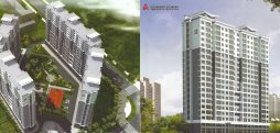 Apartment brochure details N. Korean real estate project