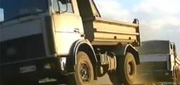 North Korean heavy diesel truck import