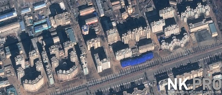 Around 50 buildings close to completion on Ryomyong Street