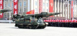 A North Korean anti-ship ballistic mis