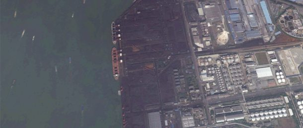 Second ship heads from N. Korean coal terminal to China