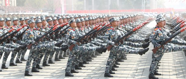 North Korea's April 15 parade: Big missiles, yes - but also small arms