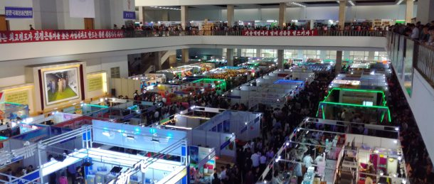 Company with possible links to sanctioned entity at North Korean trade fair