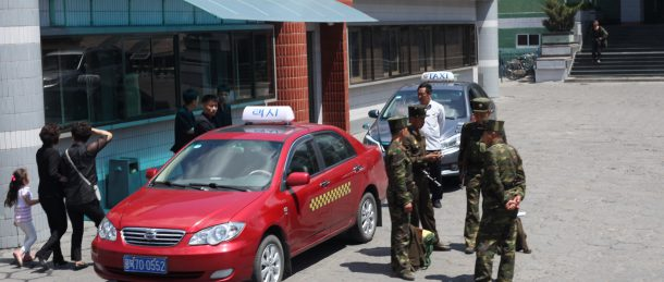 More metered taxis take to the streets in N. Korean border city