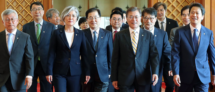 Moon Jae-in's security and foreign affairs team: the key players