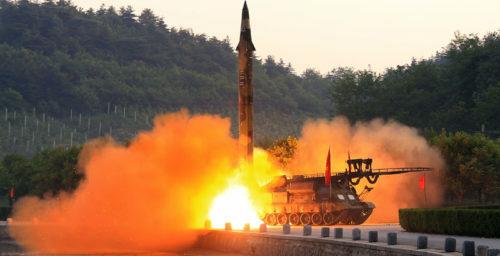 North Korea's latest Scud missile test: A carrier killer?