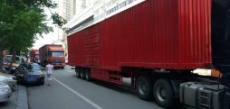 Another convoy of trucks crosses from China to N. Korea: source
