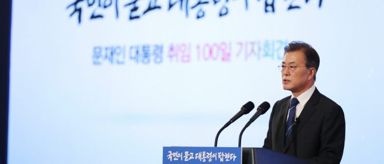 100 days of Moon Jae-in: The progress so far