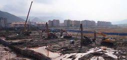 Construction restarts, expands at Tumen's new bridge to North Korea
