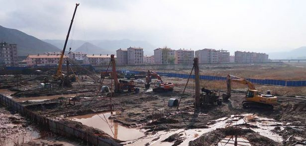 Construction restarts, expands at Tumen's new bridge to North Korea