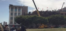 North Korean foreign ministry undergoes partial tear-down, reconstruction