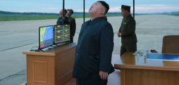 How does North Korea track its long-distance missile tests?