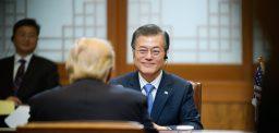 President Moon goes to China: Three no