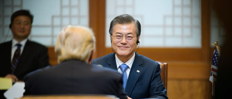 President Moon goes to China: Three no's, two freezes, and a seasonal opportunity?