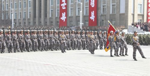 Imagery analysis: North Korea's upcoming February 8 parade