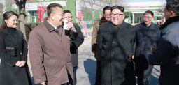 Kim Jong Un's public appearances in Ja