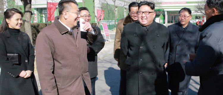 Kim Jong Un's public appearances in January: the leader lays low