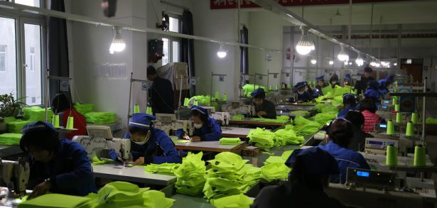 Chinese imports of North Korean textiles fall sharply in December