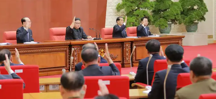 How the North is run: the Politburo and the Central Committee