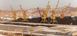 North Korean coal trans-shipper return