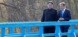 Kim Jong Un's public appearances in Ap
