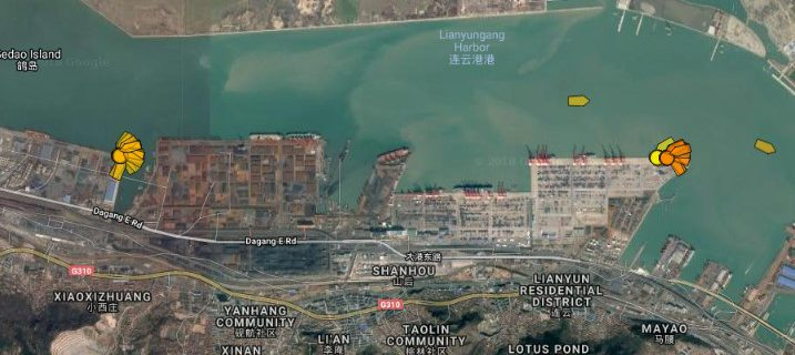 Sanctioned North Korean ship returns to Chinese bulk port