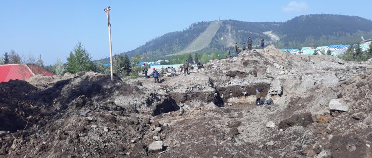 Civilians involved in hard manual labor in Samjiyon, photos and testimony reveal